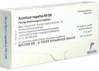 Weleda Aconitum Napellus Rh D 6 Ampullen (8 x 1 ml)