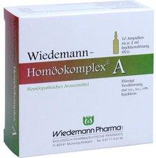 Wiedemann Pharma Wiedemann Homoeokomplex A Ampullen (10 x 2 ml)