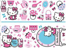 Decofun Hello Kitty Wandaufkleber (41060)