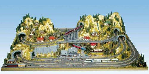 Noch 80100 - Fertiggelände Silvretta