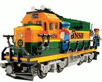 LEGO Exklusiv Burlington Northern Santa Fe Lokomotive (10133)