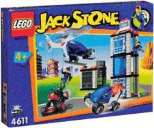 LEGO Jack Stone Polizeirevier mit Einsatzfahrzeugen (4611)