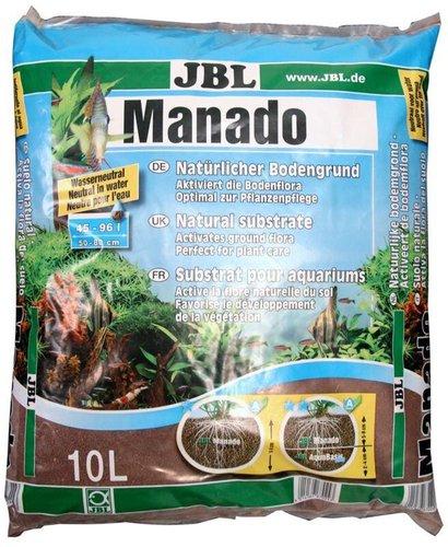 JBL Tierbedarf Manado Bodengrund, 10 l