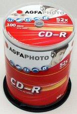 AgfaPhoto CD-R 700MB 80min 52x 100er Spindel