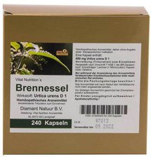 Vital Nutrition Brennessel Kapseln (240 Stk.)