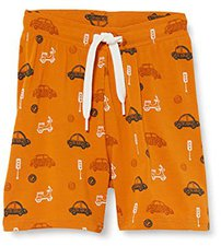 Green Cotton Shorts Jungen