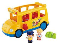 Fisher Price Little People - Little Movers Schulbus (J0894)
