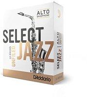 RICO Select Jazz Unfiled Blätter Alt Saxophon, 10er Box