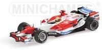 Minichamps Toyota TF107 Panasonic Racing Ralf Schumacher 2007 (070011)
