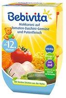 Bebivita Makkaroni auf Tomaten Zuccini Gemüse und Putenfleisch