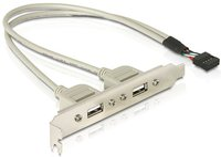 DeLock USB Slotblech (71000)
