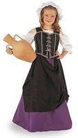 Mittelalterliche Wirtsfrau Kinder Kostüm