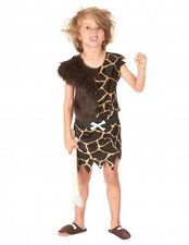 Höhlenmensch Kinder Kostüm