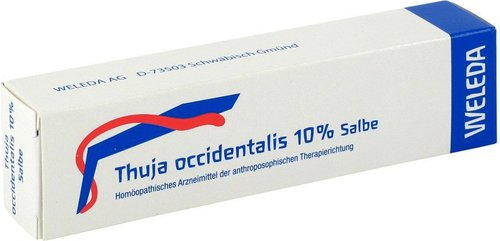 Weleda Thuja Occidentalis 10 % Salbe (PZN 1628516)
