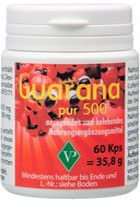 Velag Pharma Guarana Pur 500 Kapseln (PZN 1340904)