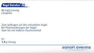 Sanofi-Aventis Nagel Batrafen Start Set Lösung (PZN 3783014)