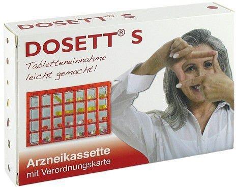 Temmler Dosett S Arzneikassette rot 11781 (PZN 8484664)