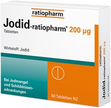 ratiopharm Jodid 200 mg Tabletten (PZN 8709270)