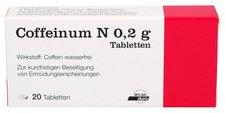 Merck Coffeinum N 0,2 g Tabletten (PZN 4584653)