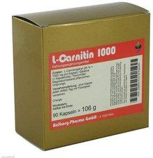 Aalborg Pharma L-CARNITIN 1000 Kapseln (PZN 2288548)