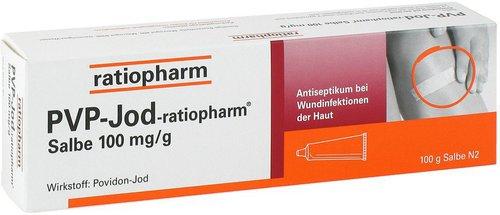ratiopharm PVP JOD Salbe (PZN 4381312)