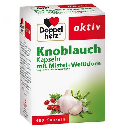 Doppelherz Knoblauch-Kapseln Mit Mistel + Weißdorn (PZN 538567)