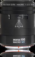 Pentax smc-DFA 100mm f2.8 Makro