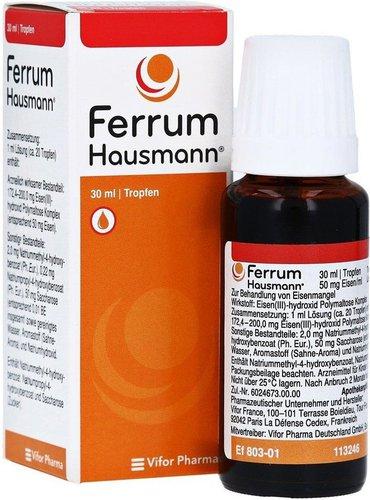 Ferrum Hausmann Tropfen (30 ml)