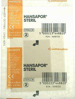 smith & nephew Hansapor Steril Wundverband 10 x 8 cm (1 Stk.)