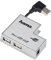 Hama USB 2.0 Notebook Hub 1:4