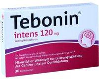 Schwabe Tebonin Intens 120 mg Filmtabletten (30 Stück)