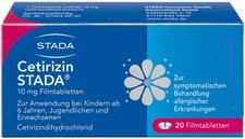STADA Cetirizin 10 mg Filmtabletten (20 Stück)