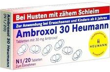 Heumann Ambroxol 30 Tabletten (20 Stück)
