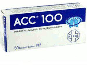 Hexal Acc 100 Brausetabl. (100 Stück)