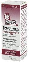Krewel Bromhexin Tropfen 12mg/ ml (30 ml)