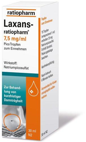 ratiopharm Laxans Pico Tropfen (30 ml)