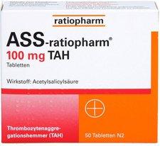 ratiopharm Ass 100 Tah Tabl. (50 Stück)