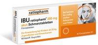 ratiopharm Ibu 200 Akut Schmerztbl. Filmtabletten (10 Stück)