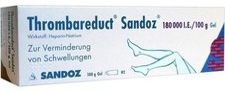 Sandoz Thrombareduct 180 000 I.E. gel (100 g)