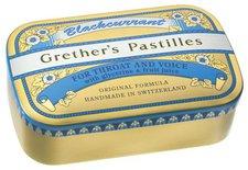 Baders Grethers Blackcurrant gold Pastillen Dose (110 g)