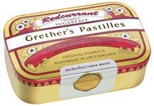 Baders Grethers Redcurrant+Vitamin C.Zf. Pastillen 110 g