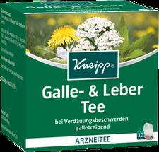 Kneipp Tee galle U. Leber Btl. 10 Stück
