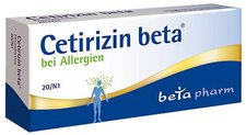 beta pharm Cetirizin beta Filmtabletten (20 Stk.)