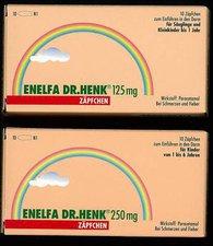 DOLORGIET Enelfa 125 mg Zäpfchen Säuglings-Suppositorien (10 Stk.)
