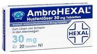 Hexal Ambrohexal Hustenloeser 30 Mg Tabl. (20 Stück)