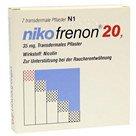 RIEMSER Nikofrenon 20 Pflaster, Transdermal (7 Stück)