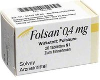 SOLVAY Folsan 0,4 Mg Tabl. (20 Stück)