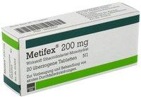 Carnigen - Cassella med Metifex 200 Mg Tabl.ueberzogen (20 Stk)