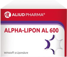 Aliud Alpha Lipon Al 600 Filmtabl. (60 Stück)