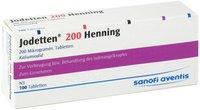 Sanofi-aventis Jodetten 200 Henning Tabletten (100 Stk)